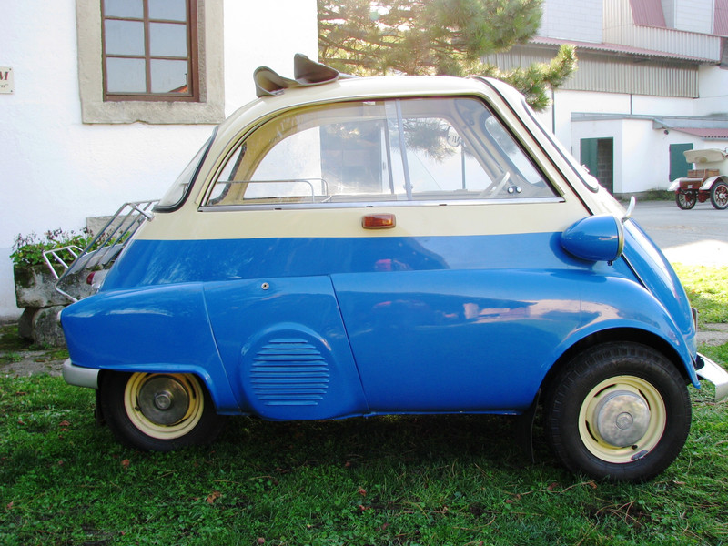 Bmw Isetta Export 300 J 252 Ly Oldie Point